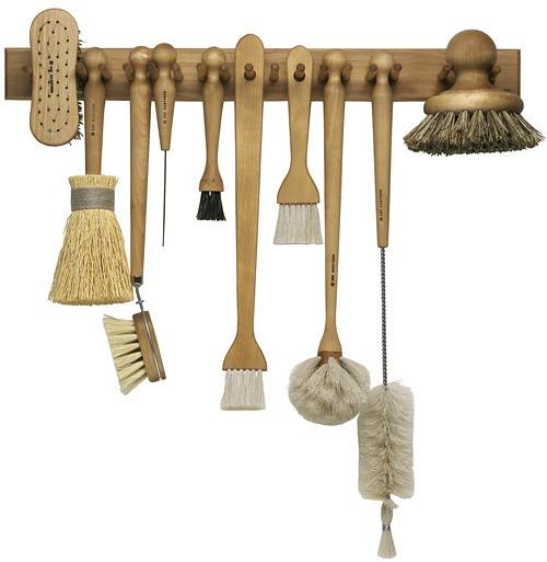 iris hantverk brush rack