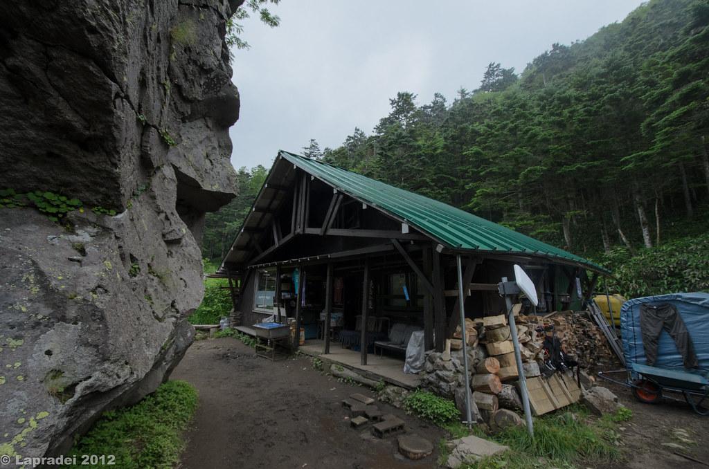 20120730 焼岳小屋