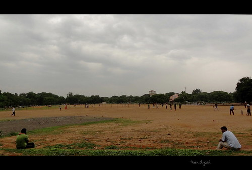 evening play cloudy railway ground east chennai tambaram