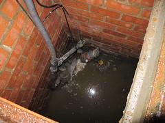 arqueta bomba de agua