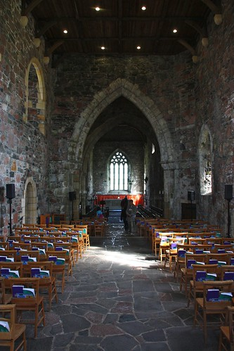 The Nave of Iona Abbey