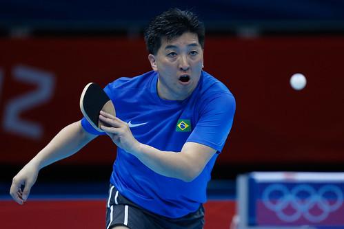 Hugo Hoyama - Atleta brasileiro de tênis de mesa