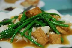 Vegetarian tofu and kailan horful AUD16.50 - Kings…