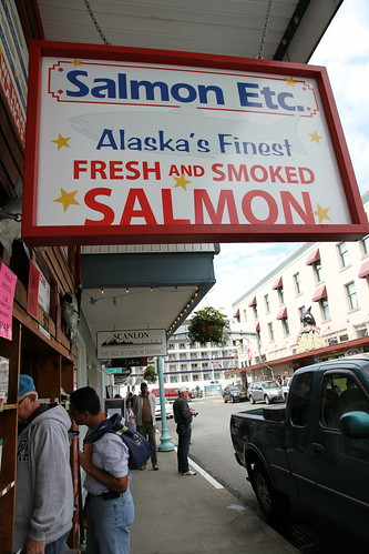 Ketchikan - Where We Got Dad's Salmon