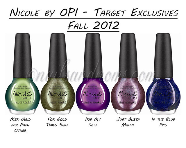 Nicole by OPI Target Exclusive Fall 2012