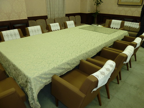 財務副大臣室