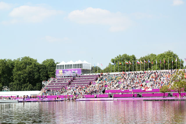 Olympics Serpentine Open Water Swimming Hyde Park