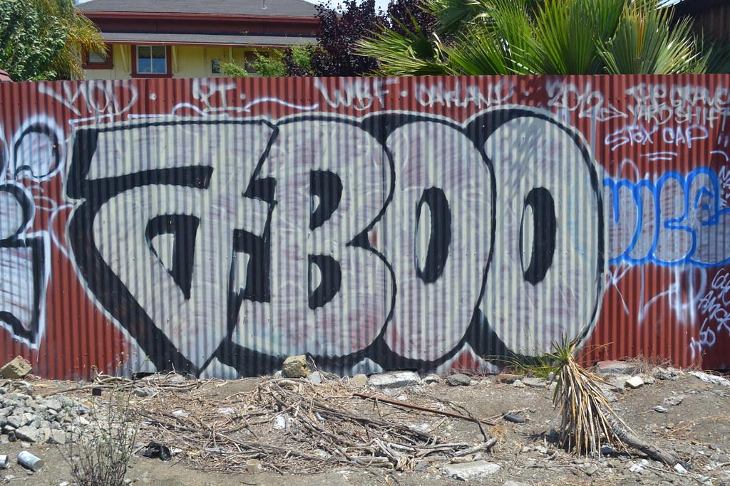 ABOO, KOD, Graffiti, Oakland, PI