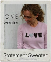 how to make a statement sweater