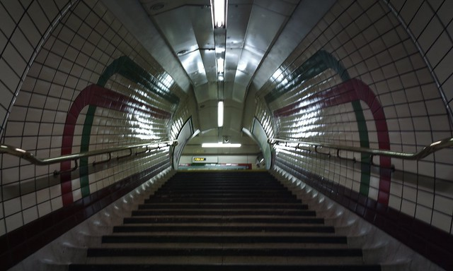 A PureView Piccadilly Circus, #EmptyUnderground