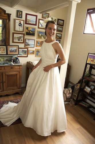 Was für ein Kleid!   Hochzeit Kleider Bilder