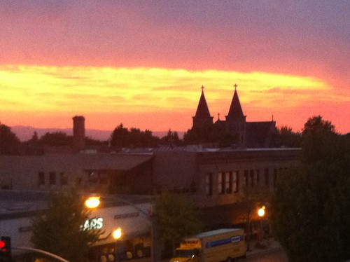 Baker City Sunset