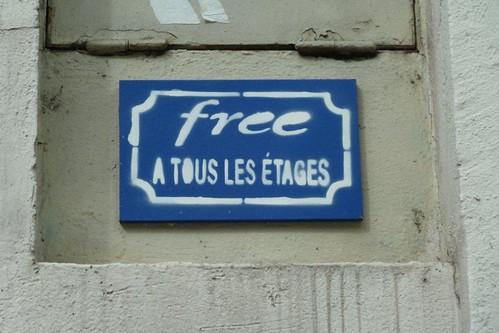 Paris 75005 Free à tous les étages