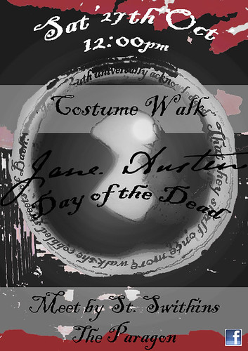 The 1st Jane Austen Day of the Dead in Bath UK by The People In My Head