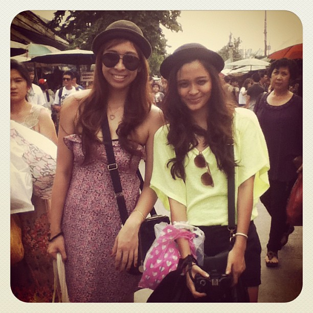 Banana & Bariana @arianakriska  Shopping day at Chatuchak