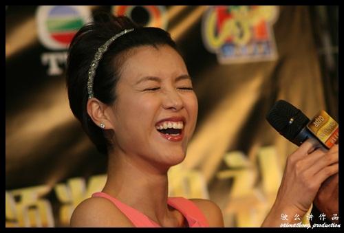 陈茵媺 Aimee Chan @ 《Astro On Demand我的最爱颁奖典礼2012》入围名单发布会以及TVB艺人造势活动 ASTRO ON DEMAND AWARDS 2012