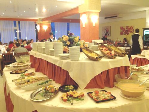 Hotel Bembo, sala da pranzo