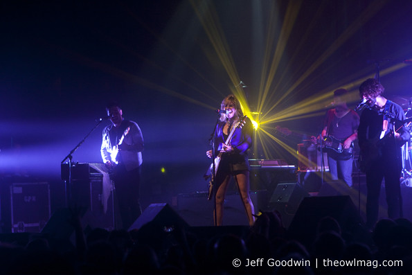 Grace Potter and the Nocturnals @ The Fox, SF 11/3/2012