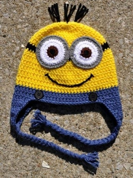 Minion Earflap Hat Flickr - Photo Sharing!