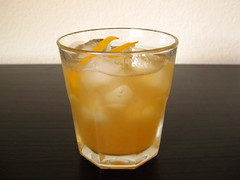 meyer lemon whiskey sour