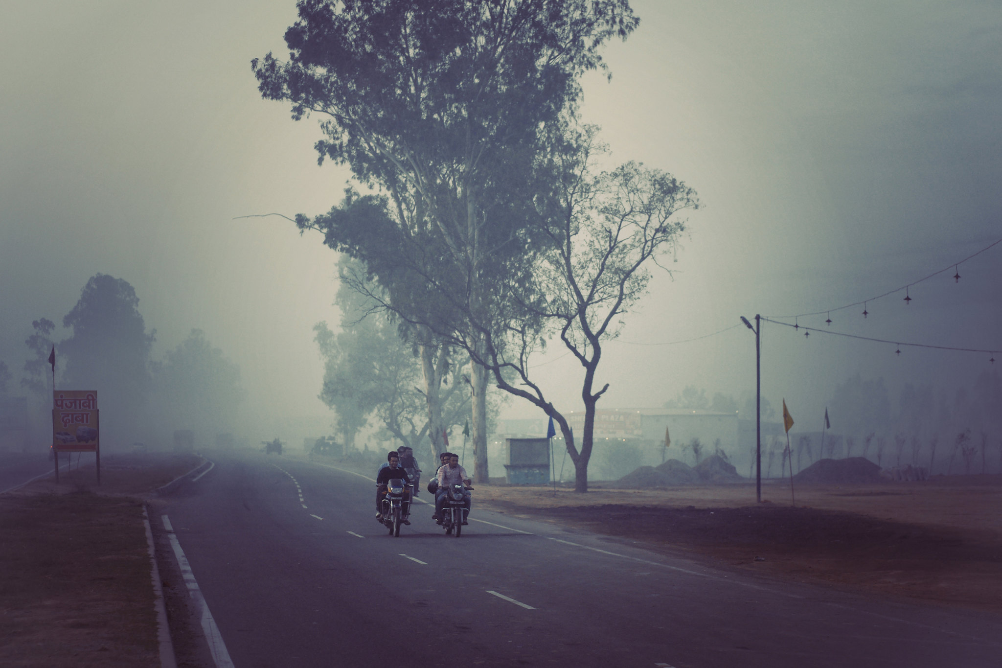 Morning Ride in India
