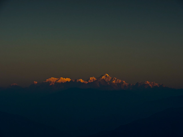 Kanchenjunga and friends