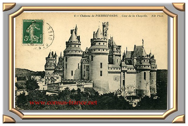 6 Château de PIERREFONDS. - Côté de la Chapelle. ND. Phot.