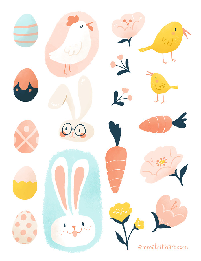 Collection Easter Stickers Pictures - The Miracle of Easter