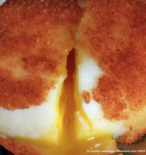 Spargels Ei auslaufen klein copyr