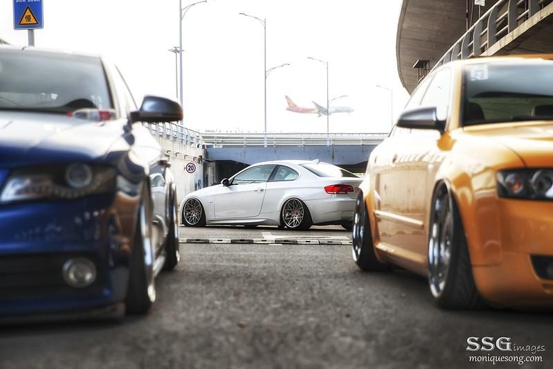 Bagged Audi & BMW