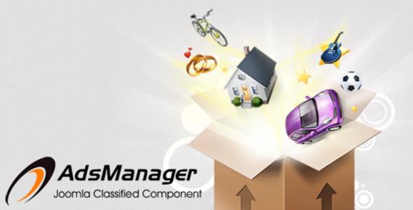 AdsManager Gold v3.1.5 - Component For Joomla 3.x - JoomProd