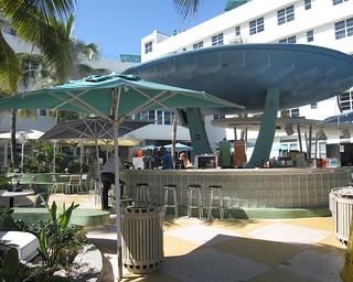 Clevelander Bar South Beach 2009