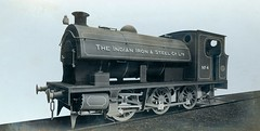 Locomotive for the Indian Iron & Steel Company