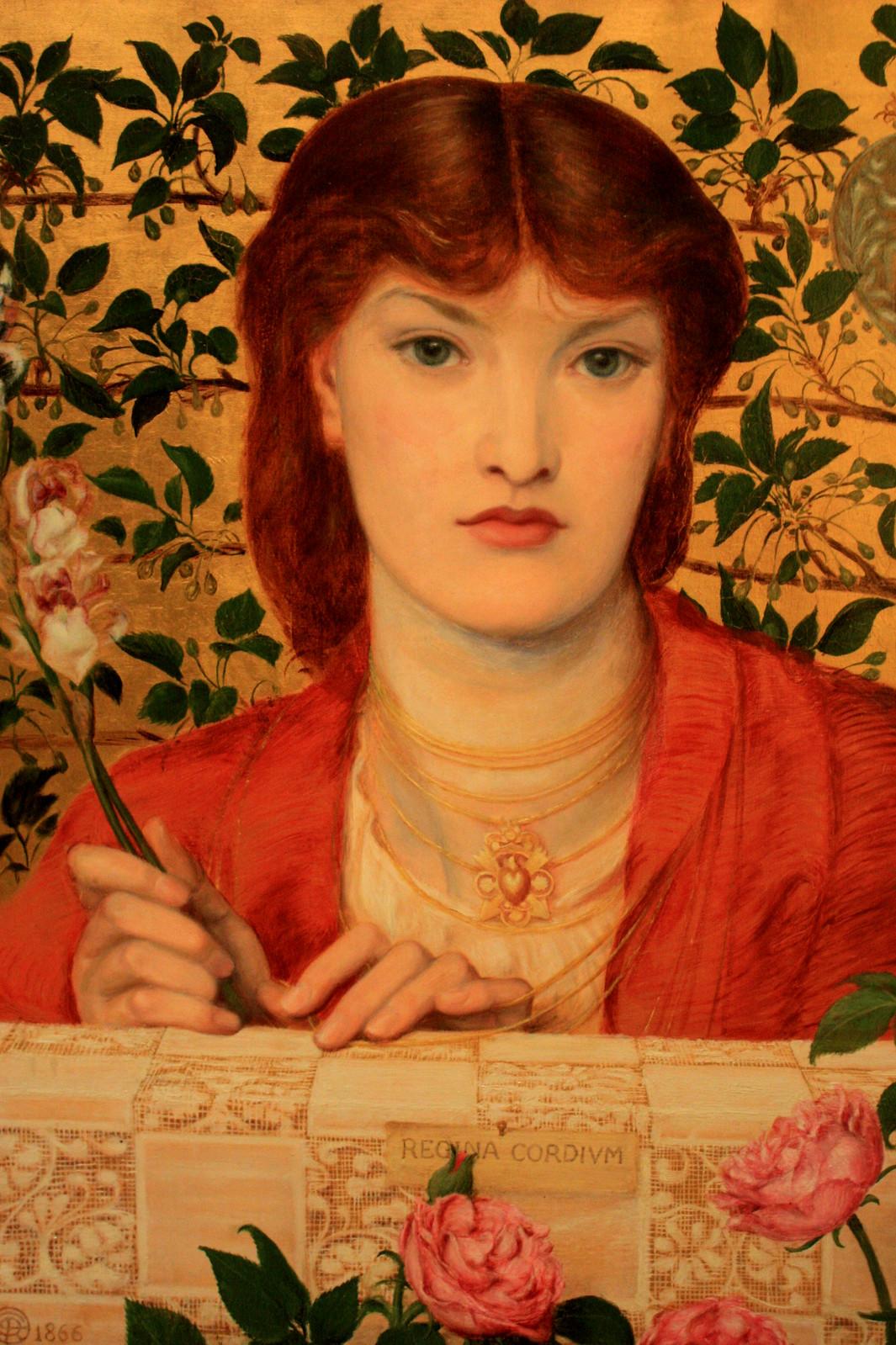 Regina Cordium by Dante Gabriel Rossetti, 1866