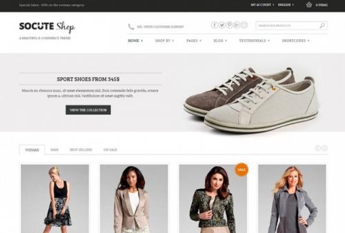 Socute v1.5.3 - Multi-Purpose e-Commerce Theme