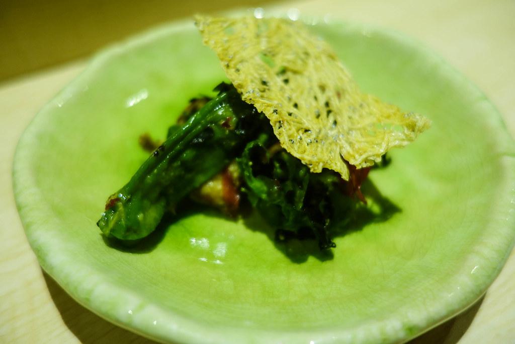軟殼蟹沙拉1