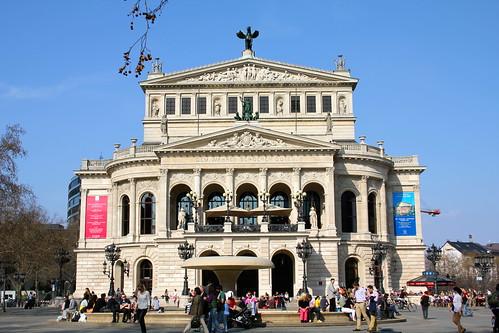 Frankfurt Alte Oper exterior