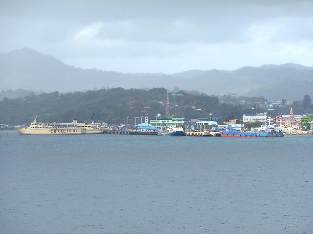 Verano port in Surigao