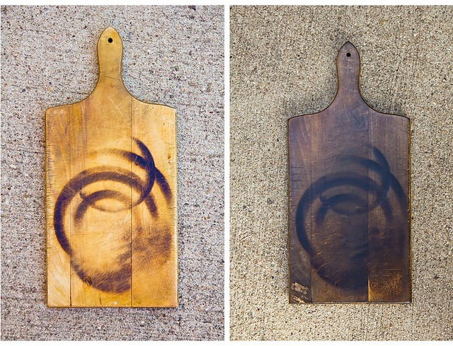 Before & After: Refinished Cutting Board