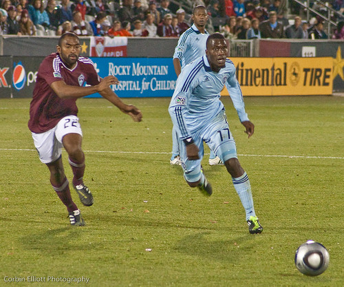 Marvell Wynne Colorado Rapids by Corbin Elliott Photography, Denver Photographer