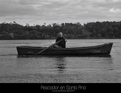 Pescador en Santa Ana by Ivan Pawluk