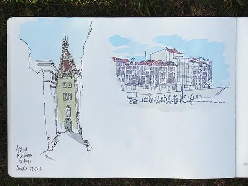 Coruña - Avenida de la Puerta de Aires