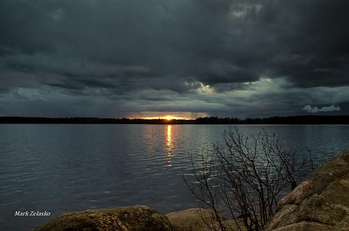 Lake Massabesic by Mark Zelasko
