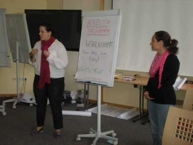 Vera und Claudia über den Erfolgsweg