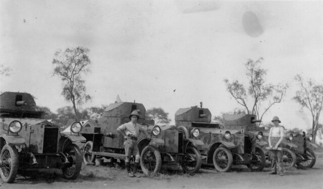 24. British Armoured Cars in East Africa in 1916
