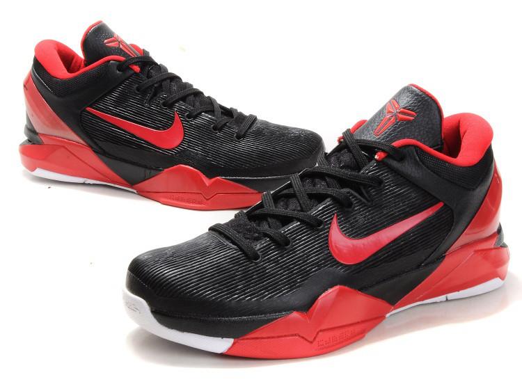 half off b43a3 b24ea ... Nike-Zoom-Kobe-7-Black-Red   by lara0527
