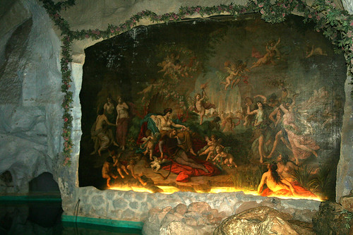 Tannhäuser Gemälde - Venusgrotte  - Schloß Linderhof