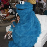 KLRU 50th Birthday Party 2012 176 Cookie Monster!