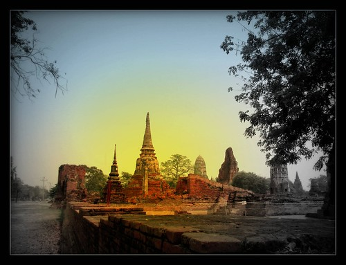 Destroyed Kingdom, Ayutthaya Thailand
