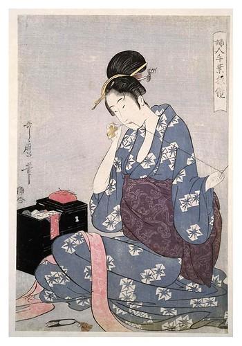 008-La costura 1797-1798-Kitagawa Utamaro-NYPL